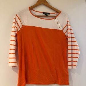 Lauren Ralph Lauren 3/4 length sleeve Top